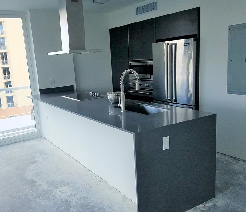 Granite City Apartments: Projects Featuring Marble And Granite Countertops Miami