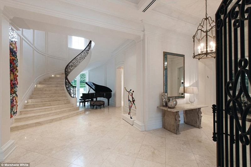 ... Click To Enlarge Image 3_Beige Marble Stairs ...